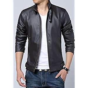OnlyUrs JLTW72115 Stand Collar Jacket - Black