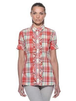 Timberland Camisa Cuadros (Rojo / Verde)