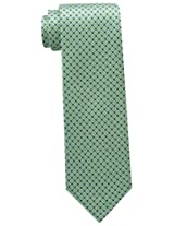Tommy Hilfiger Men's Core Micro Tie, Green, One Size