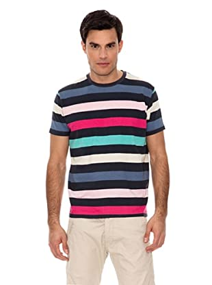 Springfield Camiseta Raya Big (Multicolor)