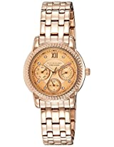 Giordano Analog Rose Gold Dial Women's Watch - P2045-44