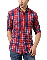 Allen Solly Grid Designed Casual Shirt