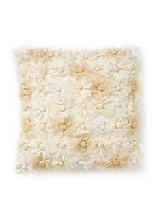 Aviva Stanoff Blossom Decorative Pillow (Cream)