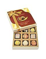9pc Sparkling Truffle Box - Chocholik Belgium Chocolates