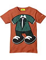 Grasshopr Glow in Dark Printed Kids T-Shirt, Blazer Design