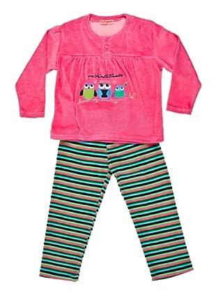 Blue Dreams Pijama Infantil Niña Tundosado (Cactus)