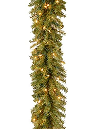 National Tree Company 9' Norwood 100-Light Fir Garland