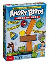 Mattel W2793 Angry Birds: Knock On Wood Game