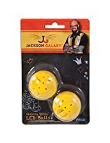 Petmate Jackson Galaxy Spiral Led Ball, 2-Pack