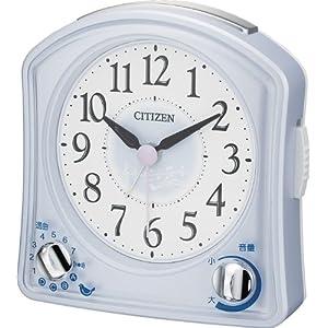 CITIZEN (シチズン) 目覚し時計 ムーランR02 メロディアラーム バード音アラーム 8RMA02-004