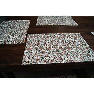 Gajgauri Hand Block Printed Table Mats