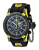 Invicta Analog Black Dial Men's Watch - 10181