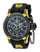 Invicta Analog Black Dial Men's Watch - 10181