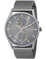 Skagen Holst Analog Grey Dial Men's Watch - SKW6180