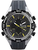 Sonata Ocean Series III Analog-Digital Multi-Color Dial Unisex Watch - 77028PP01J