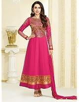 Karishma Kapoor Series Un-Stitched Anarkali Suit