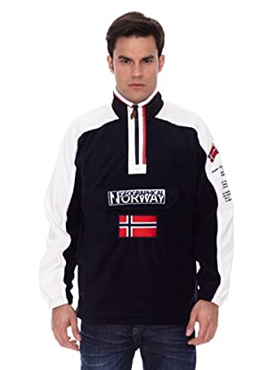 Geographical Norway Forro Polar Tim (Azul marino / Blanco)
