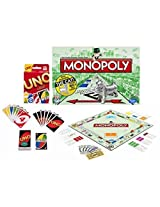 Maven Gifts: Classic Uno Cards With Classic Monopoly Game