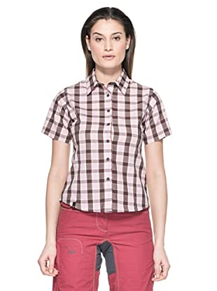 Salewa Camisa Hanne Dry W (Rosa / Negro)