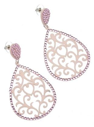 Anna Biblò Orecchini Light Drop rosa