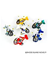 THREE (3) DIE CAST HELICOPTER, Various Colors Pull Back Friction Motion Party Favor Propellor rotate
