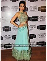 S360_new Fancy Karishma Cyan Lahanga Choli