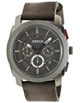 Fossil Chronograph Grey Dial Men's Watch - FS4777