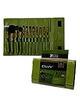 Royal Brush Guilty Pleasures Envy Cosmetic Brush Wrap Kit