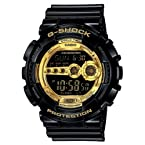 Casio G-Shock Analog-Digital Gold Dial Men's Watch - GD-100GB-1DR (G340)