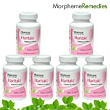 Morpheme Haritaki Supplements For Detoxification & Laxative - 500mg Extract - 60 Veg Capsules - 6 Combo Pack