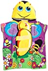 Northpoint Buzzing Bumble Bee Kids Hooded Beach Towel
