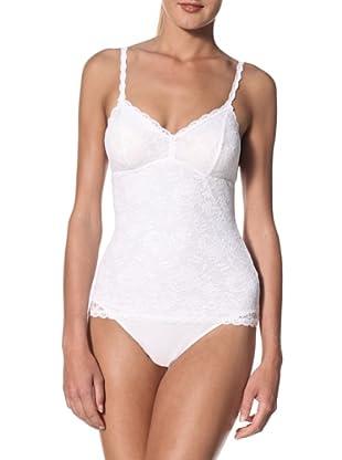 Cosabella Women's Never Say Never Sexy Shaper Teddy Cami (White)
