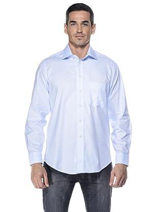 Camicissima Camisa Slim Fit (Celeste)