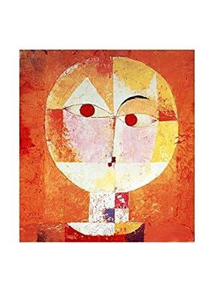 Legendarte Leinwandbild Senecio di Paul Klee