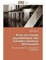 Prise En Charge Psychiatrique Des Malades Mentaux Delinquants (Omn.Univ.Europ.)