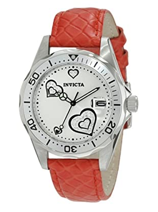 Invicta 12402 - Reloj de Señora cuarzo piel Rojo