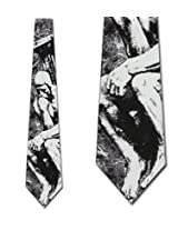The Thinker Necktie Art Roden Neck Tie