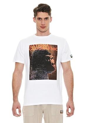 National Geographic Camiseta Ape (Blanco)