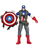 Marvel Avengers Movie 4 Inch Action Figure Super Shield Captain America