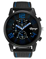 Eleganzza GT Sports Wrist Watch for men and boys (black)