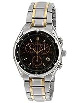 Citizen Eco-Drive Analog Black Dial Men's Watch - BL7110-60E