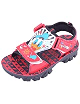 Disney Boy's GDSD Red Sandals and Floaters - 1 UK