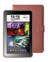 """Visual Land Prestige ELITE 9Q-KC - 9"""" Quad Core 16GB Android Tablet with Keyboard Case, KitKat4.4, Google Play (Pink)"""
