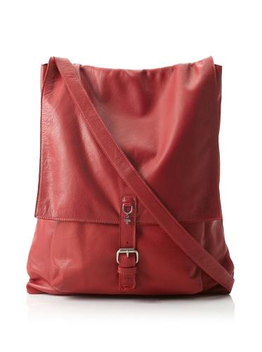 +Beryll Raw Men's Flap Messenger Bag (Blood)