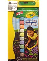 Crayola Washable Sidewalks Chalk Ruler Set