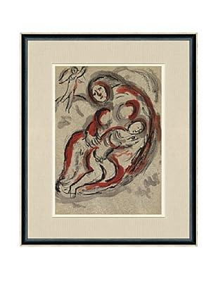 Marc Chagall, Agar Dans Le Désert