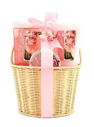 Gloss! Estuche de Baño Rose - Flores de Rosa
