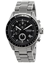 Fossil Decker CH2600 Black Dial Men's Watch
