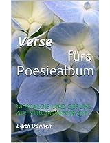 Verse für das Poesiealbum (German Edition)