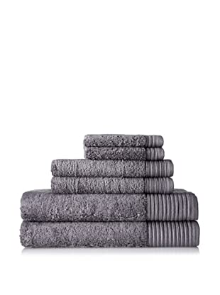 Terrisol Supima 6-Piece Towel Set (Smoked Pearl)